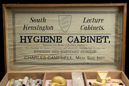Hygiene Demonstration Cabinet, English, 1895