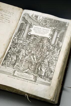 De humani corporis fabrica, book of Andreas Vesalius, 1555.