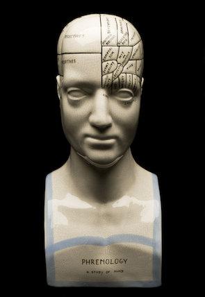 Phrenological head, United Kingdom, 20th century.