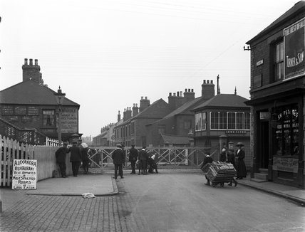 Long Eaton Crossing and Gates