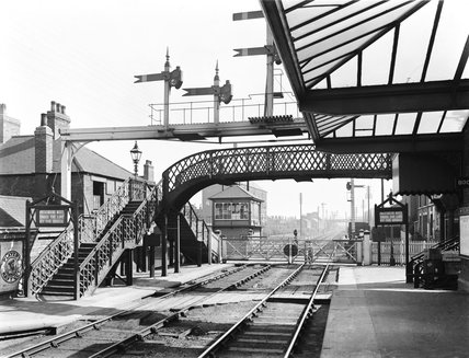 Long Eaton station, 1911