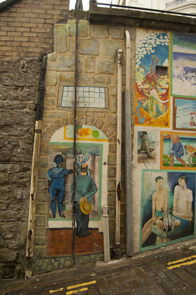 The Blands Cliff Murals on Blands Cliff
