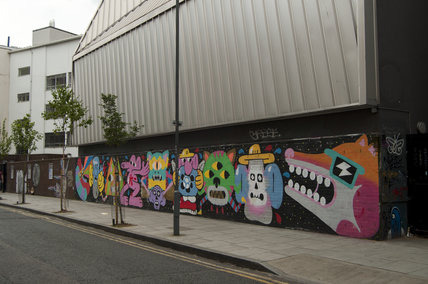 Graffiti in East London by Marlarky and Mr Penfold