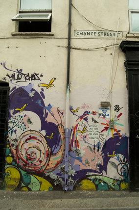 Graffiti in East London by Milo Tchais