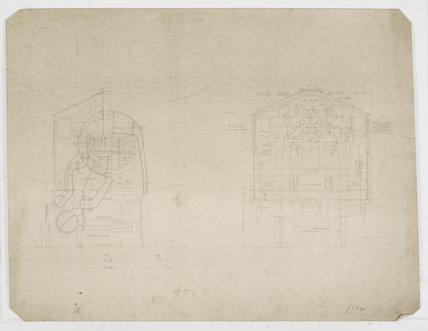 Engineering drawing  1928,A1966.24/MS0001/3/Ord1514