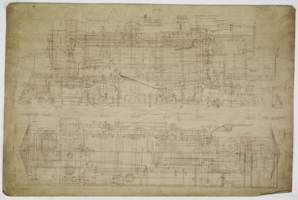 Engineering drawing  1923,A1966.24/MS0001/3/Ord02325
