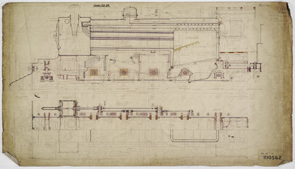 Engineering drawing  1926,A1966.24/MS0001/3/100562