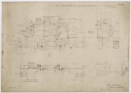 Engineering drawing  1933,A1966.24/MS0001/3/112957