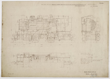 Engineering drawing  1933,A1966.24/MS0001/3/12957A