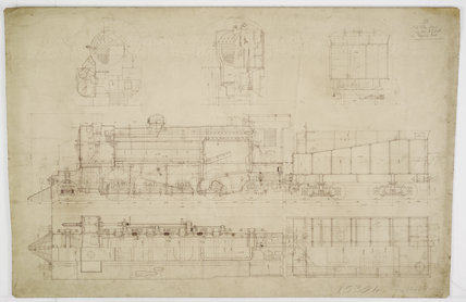 Engineering drawing  1926,A1966.24/MS0001/3/100563