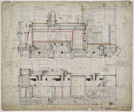 Engineering drawing  1902,A1966.24/MS0001/3/61953