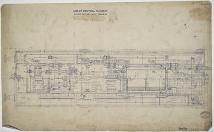 Engineering drawing  1903,A1966.24/MS0001/3/63193