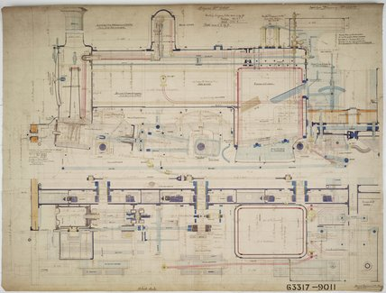Engineering drawing  1903,A1966.24/MS0001/3/63317/1