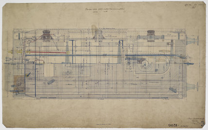 Engineering drawing  1903,A1966.24/MS0001/3/63477