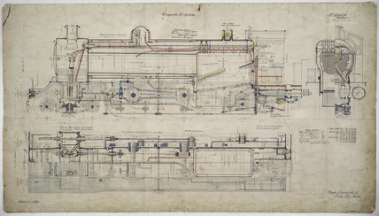 Engineering drawing  1903,A1966.24/MS0001/3/63526
