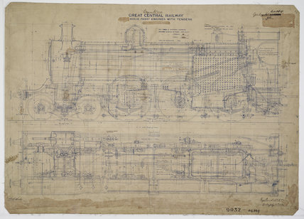 Engineering drawing  1903,A1966.24/MS0001/3/64369