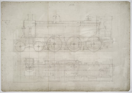 Engineering drawing  c.1903,A1966.24/MS0001/3/64369