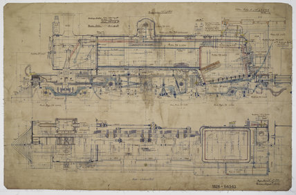Engineering drawing 1904,A1966.24/MS0001/3/64545