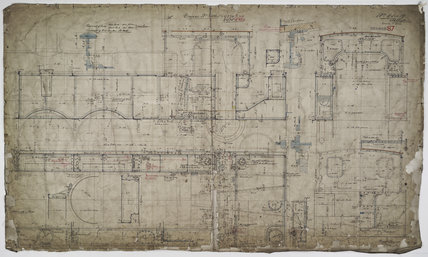 Engineering drawing 1904,A1966.24/MS0001/3/65418