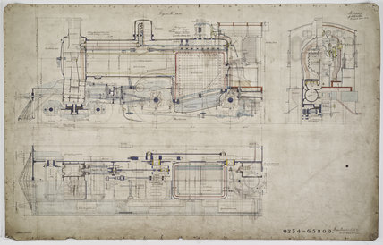 Engineering drawing 1904,A1966.24/MS0001/3/65809