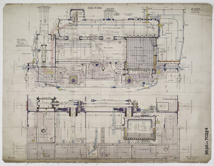 Engineering drawing 1908,A1966.24/MS0001/3/70324