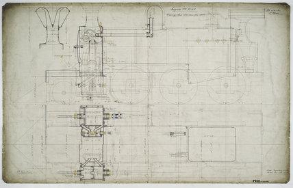 Engineering drawing, 1888
