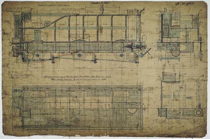 Engineering drawing, 1901