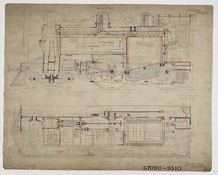 Engineering drawing, 1905