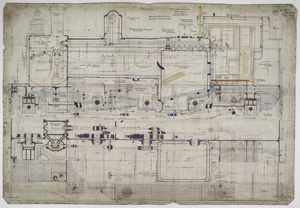Engineering drawing, 1906