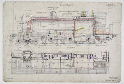 Engineering drawing, 1906
