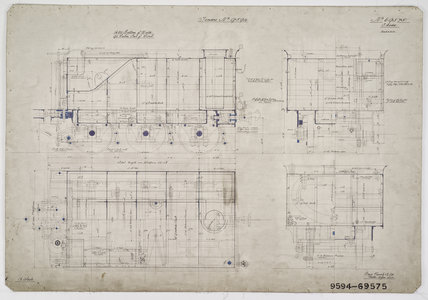 Engineering drawing, 1907