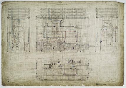 General arrangement drawing of Birmingham Central Tramways '0-4-0' tram locomotive.39329_6679