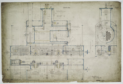General arrangement drawing of Mr Parnell '0-4-0' tank locomotive.40127_6692