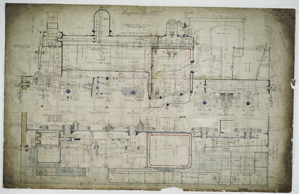 General arrangement drawing of Seacombe, Hoylake & Deeside Railway '0-4-4' tank locomotive.41671_6889