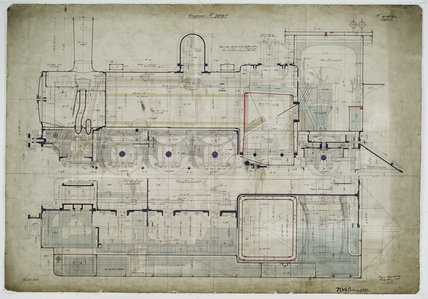General arrangement drawing of La Guaira & Caracas Railway (Venezuela) '0-6-2' tank locomotive.43393_7045