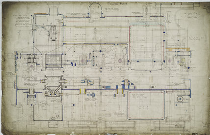 General arrangement drawing of Buenos Aires & Rosario Railway (Argentina) '2-6-0' locomotive<br/>Order No 7056<br/>Name of Draughtsman: Mellor, Hossack & Gomm.43456_7056