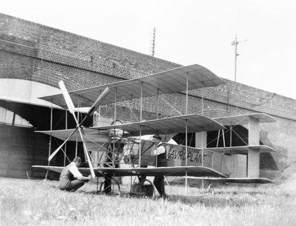 Roe Triplane, 1909.