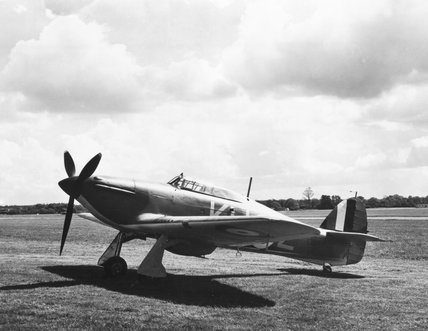 Hawker Hurricane Mk.I (with engine) No.L159.