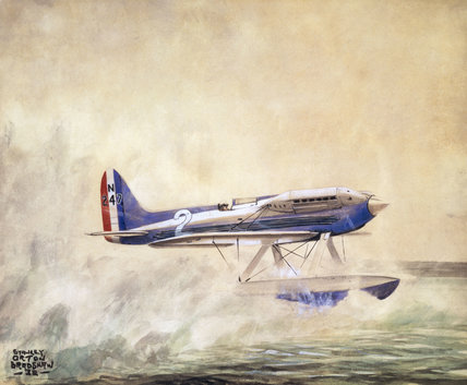 Supermarine S6 Seaplane 1932.