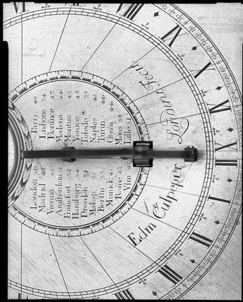 Sundial by Edmund Culpeper.