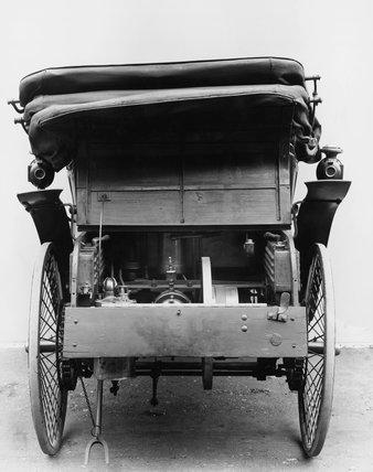 Benz single cylinder 3 h.p. motor car, 1900.