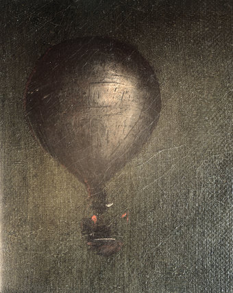 Mrs Sage's balloon, 1785.