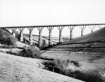 Liskeard Viaduct, Cornwall, 13 March 1894.