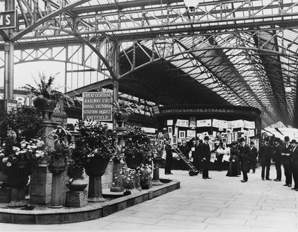 Marylebone Station, June 1905.
