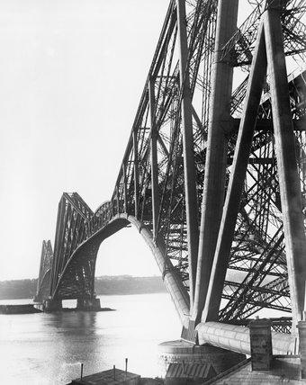 The Forth Bridge, c 1930s. The Forth Bridge