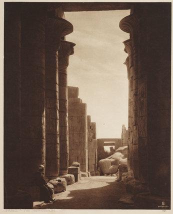 Thebes, The Ramesseum, by Rudolf Franz Lehnert, 1784.