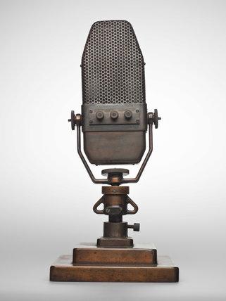Marconi ribbon type B microphone