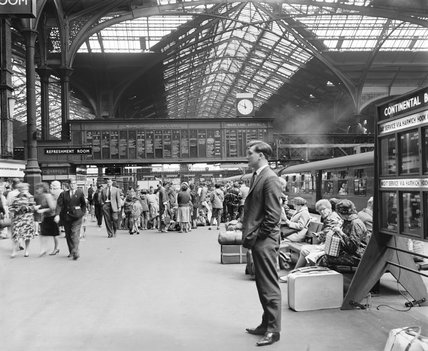 Liverpool Street station, 15th August 1962