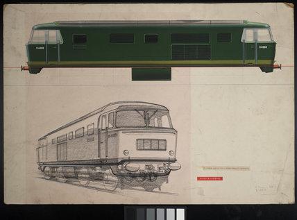 Beyer Peacock 1700 HP Type 3 Diesel Hydraulic Locomotive c1960