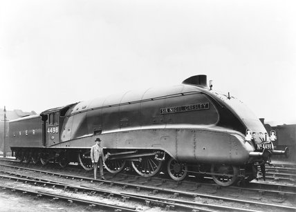 A4 locomotive Sir Nigel Gresley, 1937